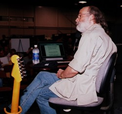 Dick Gordon Jr. Speaking at Tulsa Guitar and String Show, 2007